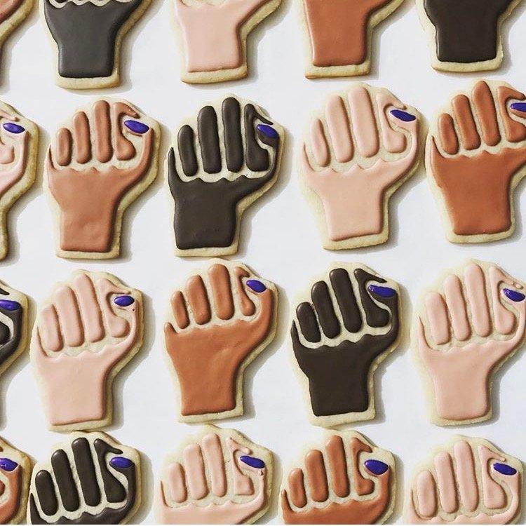 Resistance Fist Cookies
