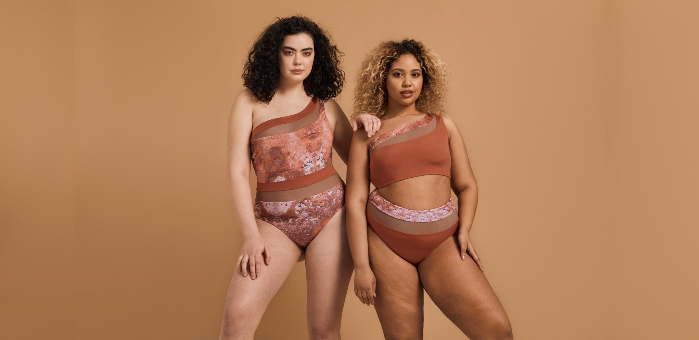 Size inclusive swimwear designer