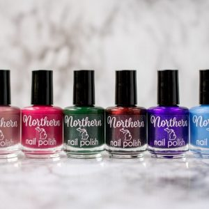 Northern Nail Polish bottles