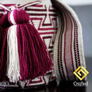 Crafted, Colombian Artisan Treasures Mini Wayuu Mochila
