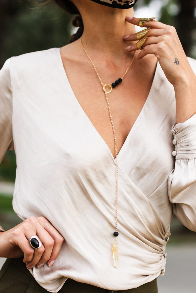 Adarabella aromatherapy necklace