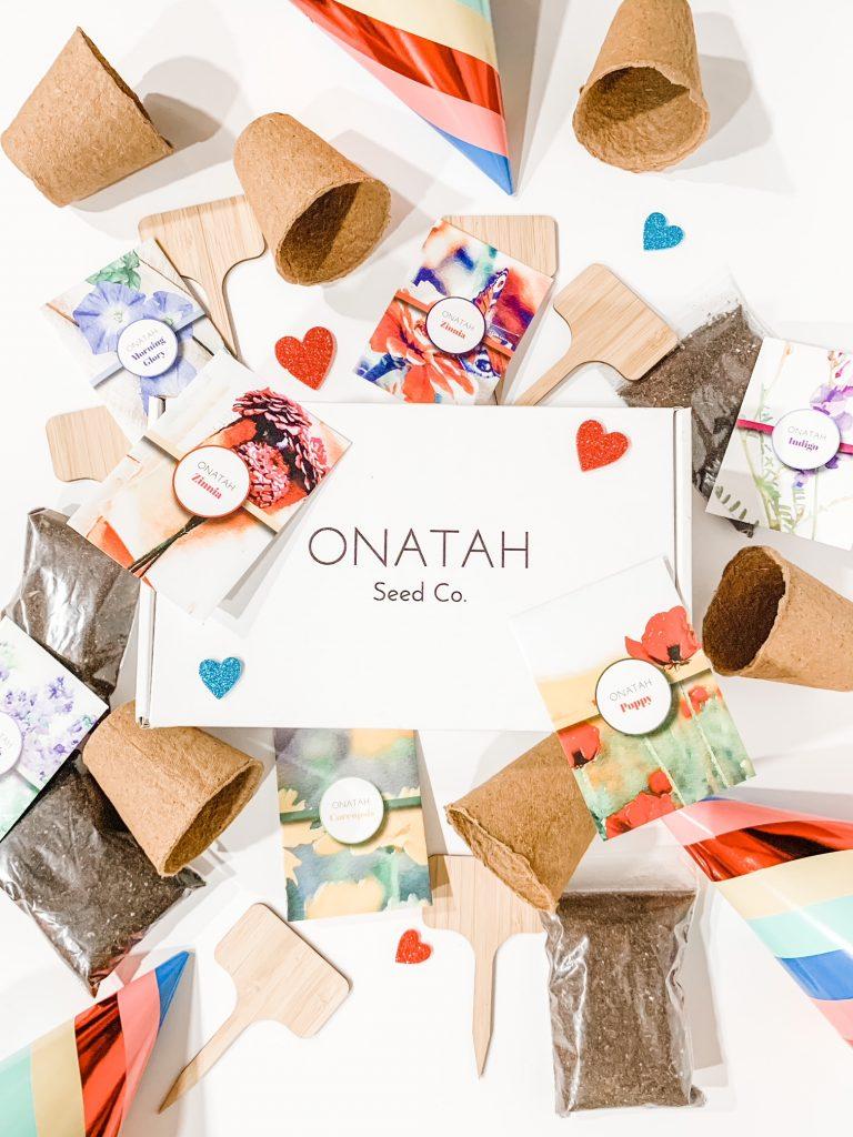 Onatah Seed Co. Seed Packets